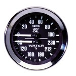 Smiths GD1301-64 - Dual Temperature/Oil Gauge Mechanical