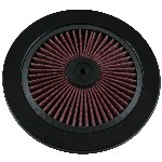 Redline 16-111 - Hi-Flow Cotton Filter Top 9-inch dia Black