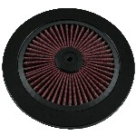 Redline 16-113 - Hi-Flow Cotton Filter Top 14-inch dia Black