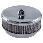 Redline 16-206 - AirForce1 Cotton Filter Assembly 6 3/8-inch dia x 5 1/8-inch neck suit 2bbl & 4bbl Holley