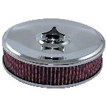 Redline 16-207 - AirForce1 Cotton Filter Assembly 9-inch dia X 2 5/16-inch neck suit Stromberg