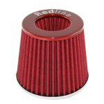 Redline 16-508 - Pod Air Filter Conical Type 114mm neck Red