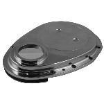Redline 28-41 - Polished Alloy timing case Cover small block Chev