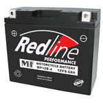 49-P12A-BS - Redline 12 Volt SLA Battery 175CCA