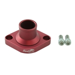 Redline 22-80-X - Billet Aluminium Thermostat Housing Straight Small Block Chev 22-80-X