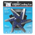 Flex-a-lite F1018 - 18-inch Low Profile Flex Fan Aluminium Blades