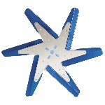 Flex-a-lite F1037 - 17-inch Low Profile Flex Fan Blue Blades
