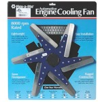 Flex-a-lite F1070 - 17-inch Low Profile Flex Fan Stainless Blades