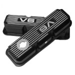 Kilkenny Casting KC167B - Alloy Rocker Covers VN V6 High Type (Black)