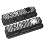 Kilkenny Casting KC168B - Alloy Rocker Covers V6 VP-VS (Black)