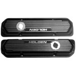 Kilkenny Casting KC208B - Alloy Rocker Covers fit Holden 253-308 (Black)