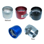 Speedflow Hose Cover Clamp 150-XX - Available in Raw, Red, Blue, Black and Natural