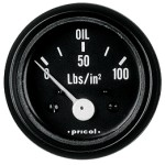Pricol 300541 - Pricol Oil Press Gauge Elect Bl 0-100psi