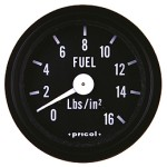 Pricol 300543 - Pricol Fuel Press Gauge Black
