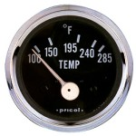 Pricol 300580 - Pricol Temp Gauge Elect Chrome
