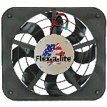 Flex-a-lite F111 & F123 - 12 inch shrouded Lo-Profile S-blade fan