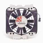 "Flex-a-lite F125 - 12"" Electric Fan (available in Black, Blue, Red or Yellow)"
